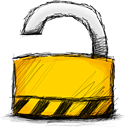 unlocked, lock icon