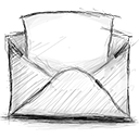email, opened icon