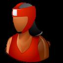 Sport Boxer Female Dark icon
