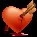 heart,arrow,valentine icon