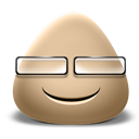 Emot, Smile icon