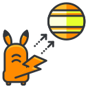 pokemon, play, game, catch, go icon