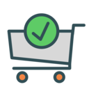 Cart OK icon