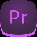 premiere, adobe, pr icon
