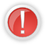 warning, exclamation, error, alert, wrong icon