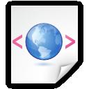 application, xhtml+xml icon