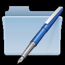 vector, folder icon