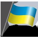 Flag, Ua, Ukr, Ukraine icon