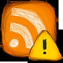 error, rss icon
