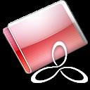 Folder RAD E8 strawberry icon
