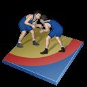 roman, greco, px, wrestling icon