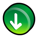 download,alternate,descending icon