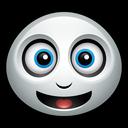 smiley, ghost, happy, friendly, spirit, casper, halloween icon