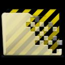 beige folder warehouse icon