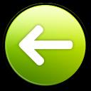 previous, left, backward, prev, arrow, back icon
