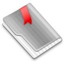 Grey Flag Red icon