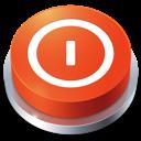 shutdown, perspective, button icon