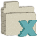 folder,excel icon