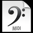 File, Midi, z icon