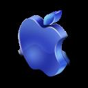 darkblue, mac icon