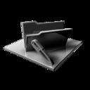 Silver Folder Edit icon