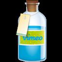 Bottle, Vimeo icon