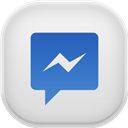 Facebook, Light, Messenger icon