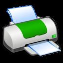Hardware Printer Green icon