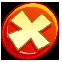 no, cancel, close, stop, button icon