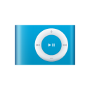 ipod, blue, shuffle icon