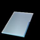document,ferm,bleu icon