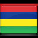 country, mauritius, flag icon