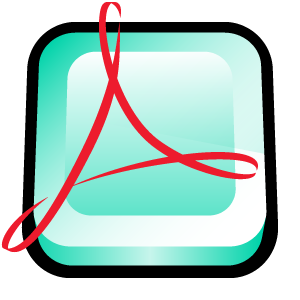 adobe, distiller, acrobat icon