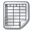 Spreadsheet icon