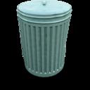 bin,closed,trash icon