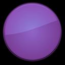 empty, badge, blank, purple icon