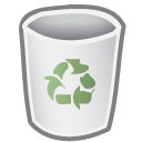 empty, bin icon