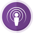 apple podcast logo, podcast, podcast logo, apple podcast, audio icon