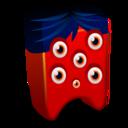 red,creature icon