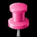 pin, workspace, pink, push, base, marker, map icon