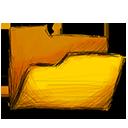 folder, empty icon