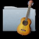 folder,graphite,music icon