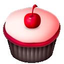 Cherry, Pink icon