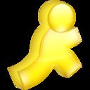 aim,yellow icon