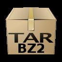 application, compressed, mime, gnome, tar, bzip icon