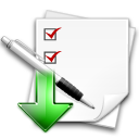 task, stock, assigned icon