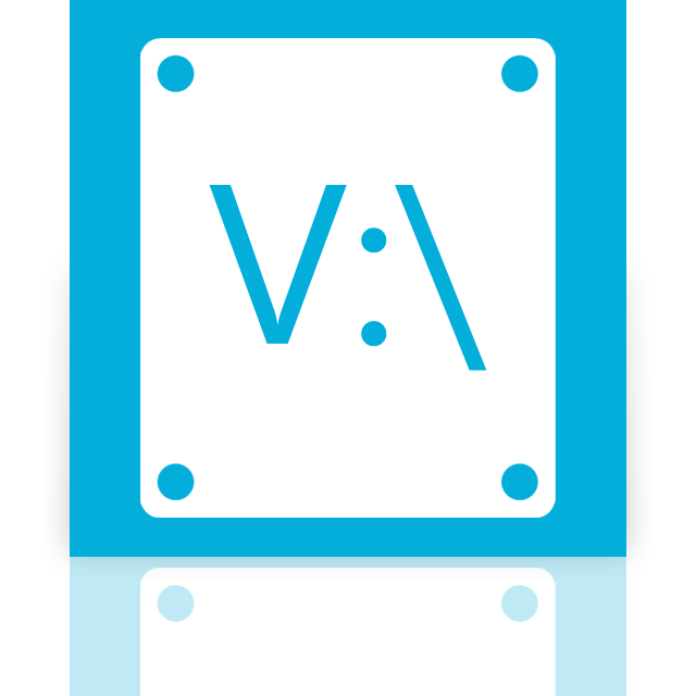mirror, v icon