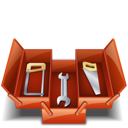 tool box, toolbox, saw, tools icon
