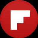 Circle, Flat, Flipboard icon