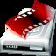 video, film, drive, movie icon